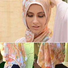 """Chiffon  AJMAAN pin free hijab. ******************************* Colour:  beige """"map of the world """" Price: £14 plus postage  Ways to order:  DM Instagram: www.instagram.com/souk_alriyadh DM Facebook: www.facebook.com/soukalriyadh Whatsapp: +44 7807640424 Email: info@soukalriyadh.co.uk. ******************************* With a band of bamboo cotton at the edge of the hijab for more staying power! Chiffon without the dramas. Exotic African brown/black Leapord print.  #ajmaan #ajmaanuk #hijab…"""