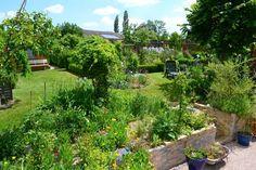 Un jardin champêtre pour farnienter