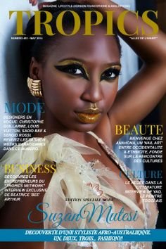 Copyright © Tropics Media Group, May Sergio Rossi, Vogue, Magazine, Digital Prints, Africa, Cover, Group, Image, Photography