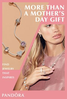 Jewelry is more than a gift. Each piece is selected with care, consideration and love for its recipient. Shop PANDORA Jewelry and find a meaningful gift that will fill your mother's heart.