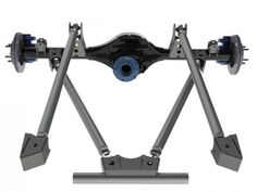 """4-Link Kit """"C"""" - Lower Triangulated Links, Upper towers - Link Suspension Kits - Products - Chassis Unlimited"""