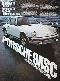 Old Porsche ads...