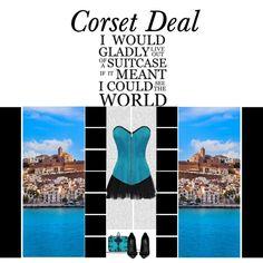 Echo Satin Corset http://www.corsetdeal.com/Echo-Satin-Corset_p_2116.html  Your Price:$76.38 Retail Price:$106.38  Desiree Lace Tu Tu Skirt http://www.corsetdeal.com/Desiree-Lace-Tu-Tu-Skirt_p_2733.html  #corsetdeal #corset  #waisttrainingcorset
