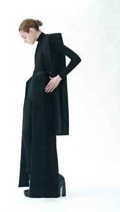 black suit, fashion design, black elegant