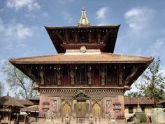 Old as old itself, the Changu Narayan Temple has a history that dates back to around 3000 years. Perched on . Home Temple, Tibet, Nepal, Gazebo, Indie, Old Things, Outdoor Structures, City, World