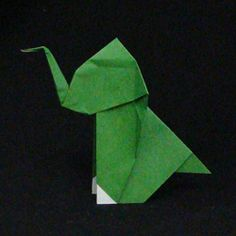 Learn to fold origami animals with free online instructions.