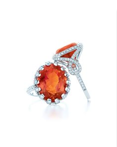TIFFANY&Co Fire Opal rings