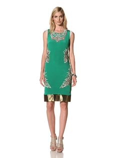 Thakoon Women's Embroidered Shift Dress at MYHABIT. Great color.