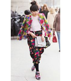 @Who What Wear - Most Colorful   Susie Lau of Susie Bubble