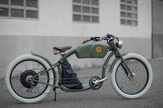 These Stylish Electric Bicycles Are Inspired By Classic Café Racers - Airows