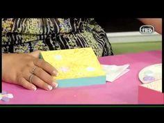 Como pintar una caja en arte country y puntillismo DIY HECHO CON ESTILO DEL CANAL TRO - YouTube Arte Country, Plastic Cutting Board, Youtube, Blog, Diy, Picture On Wood, How To Paint, Pointillism, So Done