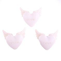 Cœur avec ailes de chérubins