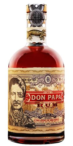 Discover Don Papa Small Batch Dark Rum at Flaviar Cigars And Whiskey, Scotch Whiskey, Alcohol Bottles, Liquor Bottles, Tequila, Fun Drinks, Alcoholic Drinks, Cocktails, Don Papa
