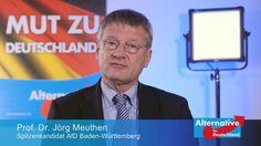 AfD Prof. Dr. Jörg Meuthen Videobotschaft 3/2016
