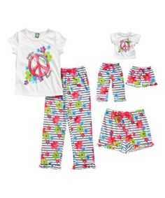 ae1daaf93d Dollie   Me Girls  Woven Sleeveless Floral Dress and Matching Doll Outfit