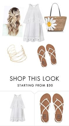 """Untitled #80"" by sanduema on Polyvore featuring Billabong and Kate Spade"