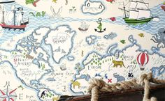 Ahoy today be #TalkLikeAPirateDay this @SandersonFW Treasure Map design be perfect for any young scallywags out thar!