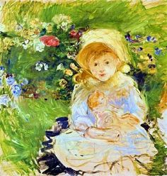 It's About Time: Berthe Morisot 1841-1895 paints children in gardens