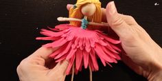 DIY Doll Making and How To Make A Fairy Doll