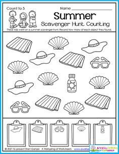 These kids went on a scavenger hunt and look at all the things they found! You can find more fun counting opportunities like this in my Summer Counting Worksheets for Kindergarten packet. Please take a minute to check it out! Counting Worksheets For Kindergarten, Summer Worksheets, Graphing Worksheets, Alphabet Tracing Worksheets, Upper And Lowercase Letters, Lower Case Letters, Counting For Kids, Number Tracing, Writing Lines
