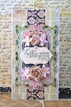 Crafty by AgnieszkaBe: Wedding Day Card Prima Marketing, I Card, Wedding Day, Crafty, Frame, Home Decor, Pi Day Wedding, Picture Frame, Wedding Anniversary