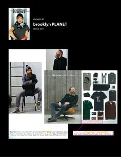 Brooklyn Planet Catalogue of Belgian Retailor, Brooklyn  #Fashion #Menswear