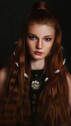 Muse Magazine, Digital Portrait, Digital Art, Freelance Illustrator, Photo Canvas, Face Art, Beautiful Eyes, Beautiful Images, Painting Inspiration
