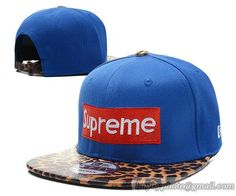 purchase cheap 1ef55 340eb Cheap Wholesale Supreme Strapback Leopard Blue for slae at US 8.90   snapbackhats  snapbacks  hiphop  popular  hiphocap  sportscaps  fashioncaps   baseballcap