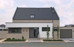 Klinkerhaus EFH in Rheine Dream House Exterior, Dream House Plans, Solid Brick, Facade House, Architecture Plan, Home Fashion, Bungalow, New Homes, House Design