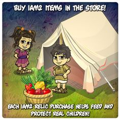 LIKE and SHARE if JESUS is your PROVIDER!    Provide Protection And Food For Children!    Get the New iAM2 Relics in your Shop Today!    With your help, we can make a difference   in the lives of God's children.