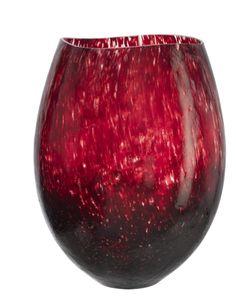 Kosta Boda 'Dino' Vase - maroon / burgundy glass (available at Nordstrom) Dali, Contemporary Vases, Shades Of Burgundy, Kosta Boda, Glass Design, Colored Glass, Glass Art, Perfume Bottles, Pottery