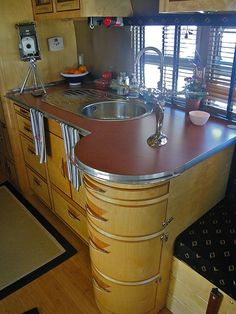 Custom Sink | Flickr - Photo Sharing! WOW, in love with the chrome and curves.