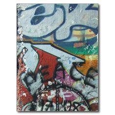 berlinwall design postcard