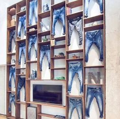Garcia jeans showroom Barcelona mens denim