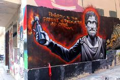 Poverty is the parent of revolution and crime. -Aristotle  WD street art: https://www.facebook.com/WD.street.art/?fref=ts