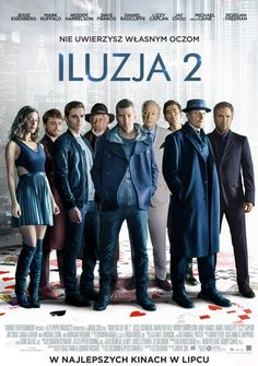 Twenty-five new images and eight posters for NOW YOU SEE ME 2 starring Jesse Eisenberg, Woody Harrelson, Dave Franco, Lizzy Caplan, Mark Ruffalo and Daniel Radcliffe. Dave Franco, Hd Streaming, Streaming Movies, Coco Film, Youtubers, Cinema Online, Spanish Posters, Happy End, 2 Movie