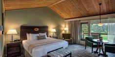 Salishan Resort (upstairs room, King)