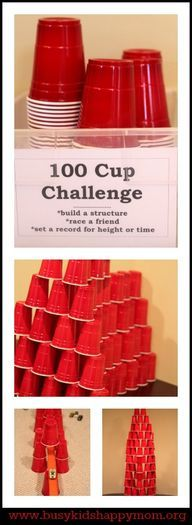 100 Cup Challenge -