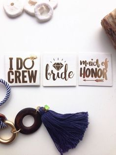 """""""I Do"""" Crew Gold Temporary Tattoos for Bachelorette Party 
