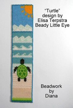 Myrtle odd count Peyote pattern for a cuff by TheBeadyLittleEye