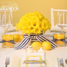 Cute wedding table