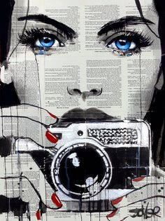 Find the ultimate pop art essentials for your mid-century home decor Arte Pop, Journal D'art, Pop Art, Art Du Collage, Newspaper Art, Art Watercolor, Oeuvre D'art, Painting & Drawing, Amazing Art