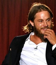 Travis Fimmel - I really just wanna pull on that... beard...