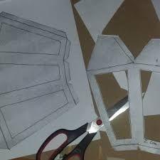 Resultado de imagen para moldes para faroles de papel