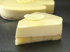 Tarta mousse de limón con gelatina de gintonic