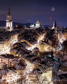 The old city of Bern   #Switzerland_Vacations ⛄️