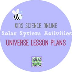 Universe Lesson Plans: Solar System Activities