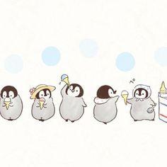 アイスクリームの日 #ねこぺん日和#ねこぺん#ぺんちゃん