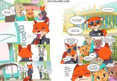 Comic: 200 Dollars a Day (Original by Maru) (Translated by the ZNN Translation…