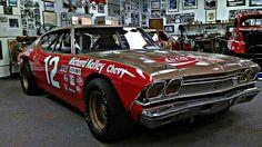 Nascar Cars, Nascar Racing, Road Racing, Auto Racing, Car Paint Jobs, Classic Race Cars, Chevrolet Chevelle, Chevy, Old Race Cars